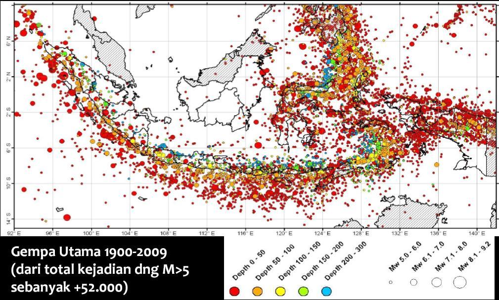 Perkembangan Peta Gempa di Indonesia | SASTRA SIPIL INDONESIA